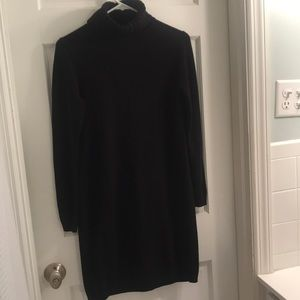 Warm and flattering J crew turtle neck dress